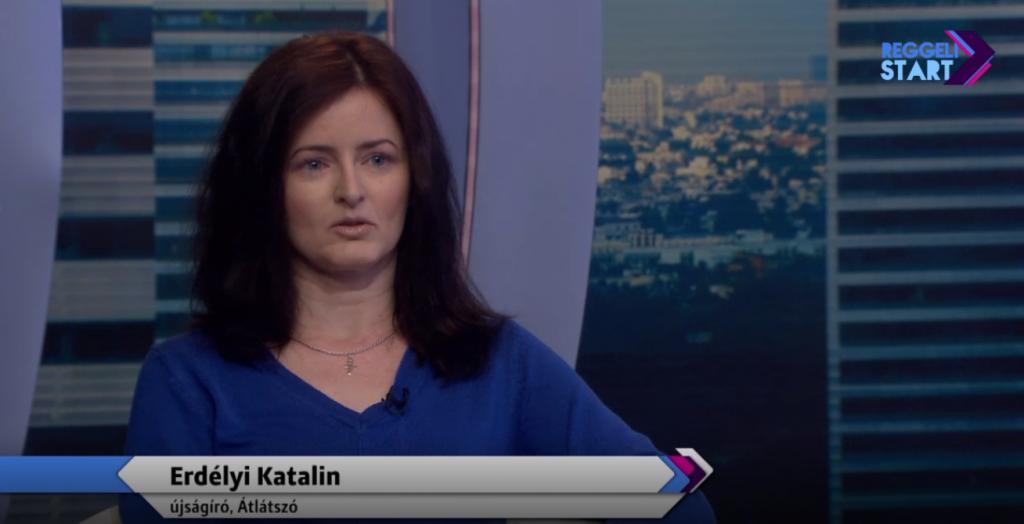 Erdélyi Katalin a Digi Sport reggeli műsorában 2019.03.26.