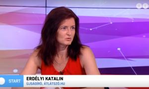Erdélyi Katalin az ATV-ben, 2019.08.28.